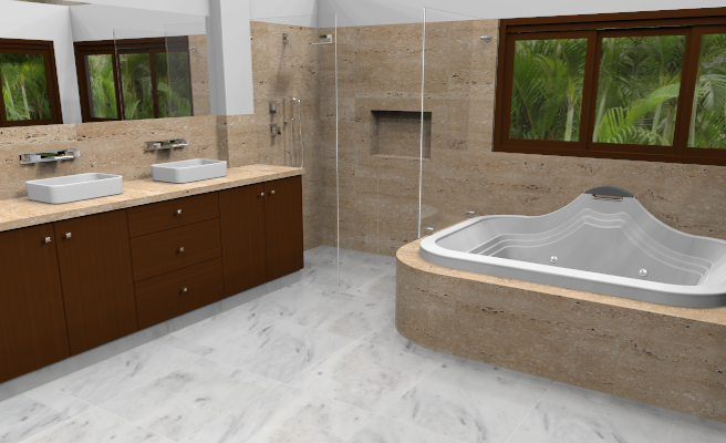 Bao Travertino Trendy Marbleline Efecto Mrmol Bao With Porcelanico